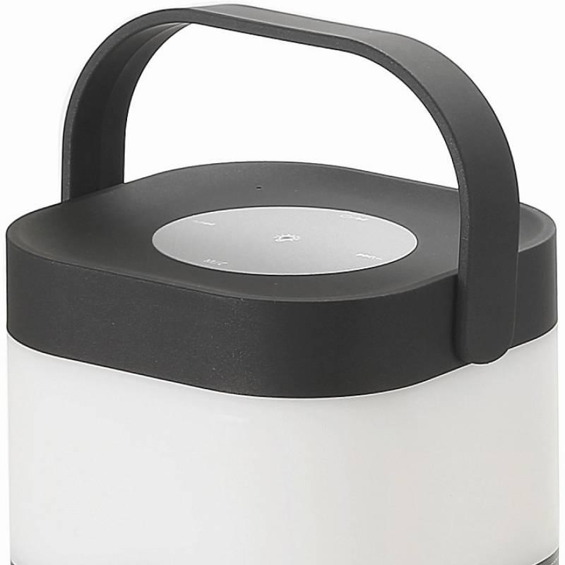 Настольная лампа Arte Lamp Relax A2005LT-1BK— Портативная колонка с светодиодным светильником