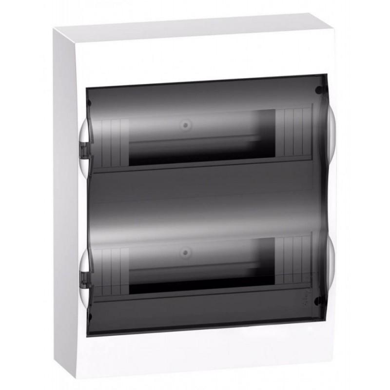 Бокс навесной Schneider Electric Easy9 на 24 модуля с прозрачной дверью с клемниками N+PE