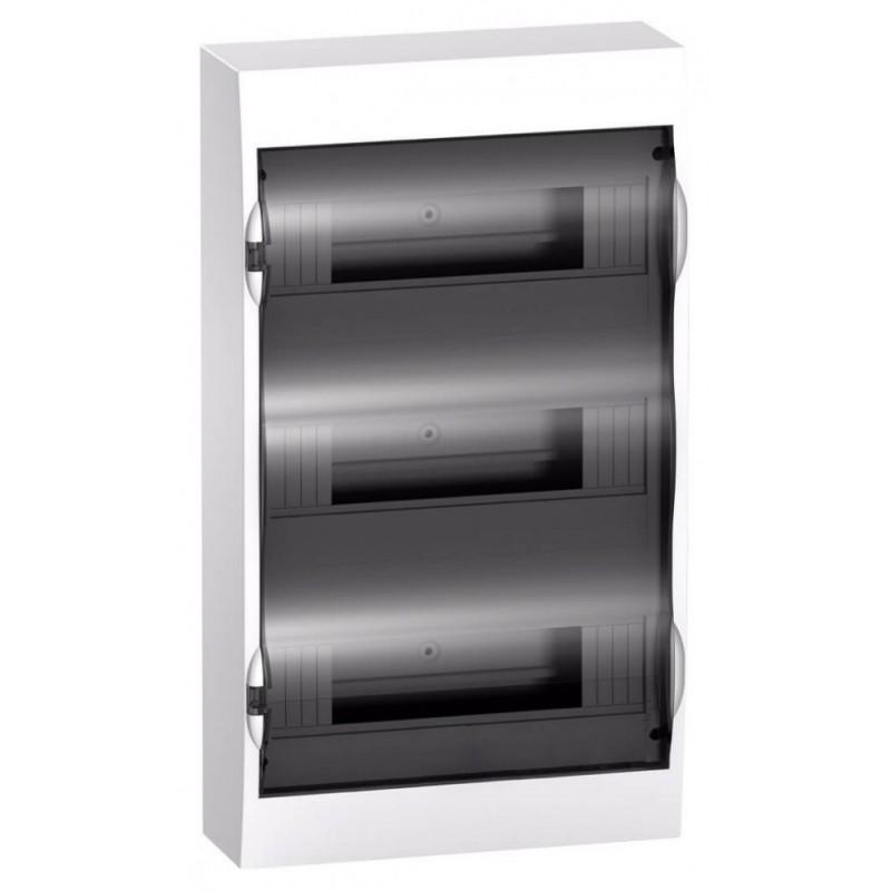 Бокс навесной Schneider Electric Easy9 на 36 модулей с прозрачной дверью с клемниками N+PE