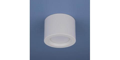 Потолочный светодиодный светильник Elektrostandard DLR026 6W 4200K белый матовый 4690389120671