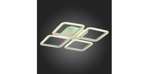 Потолочная светодиодная люстра Evoled Qutro SLE200452-04RGB