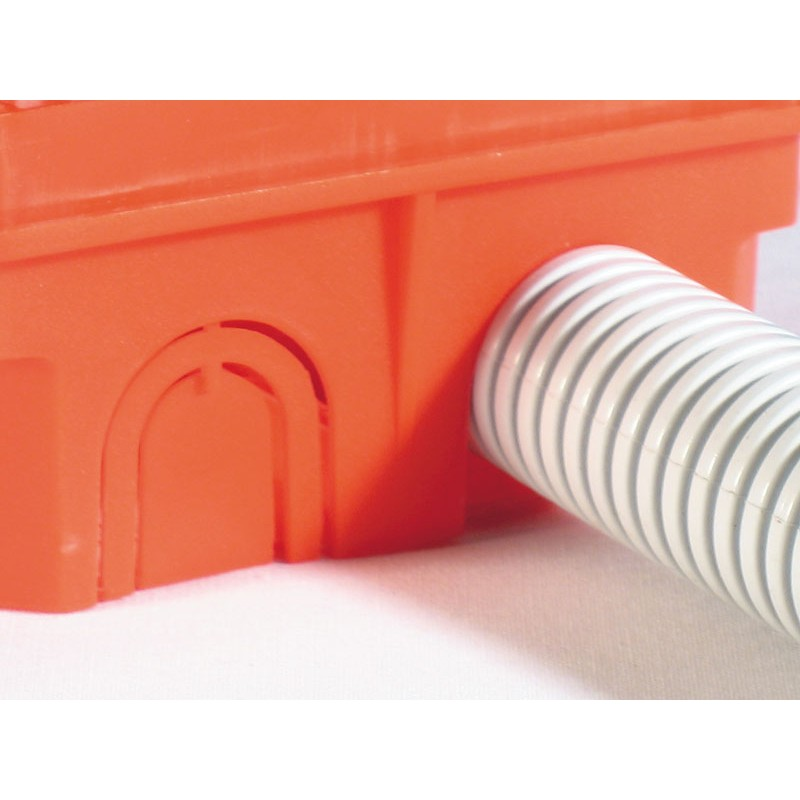 Коробка разветвительная для сплошных стен  СП 102х102х50 КР1101  Hegel