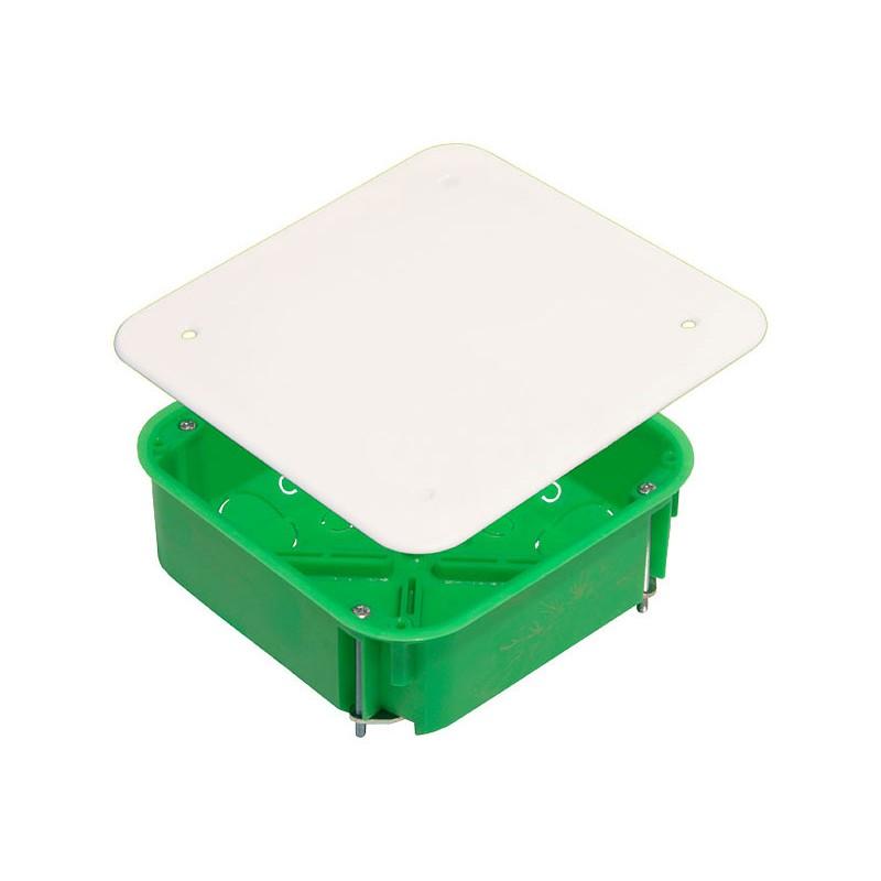 Коробка разветвительная для полых стен  СП метал. лапки 106х106х45 КР1201  Hegel
