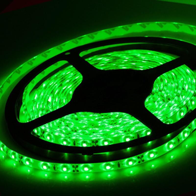 Светодиодная лента Horoz Electric 5M зеленая 4,8W 3528SMD 60LED/m (081-002-00014)