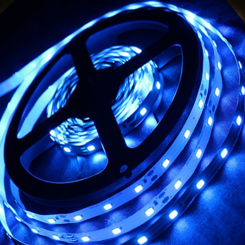 Светодиодная лента Horoz Electric 5M синяя 4,8W 3528SMD 60LED/m (081-002-00016)