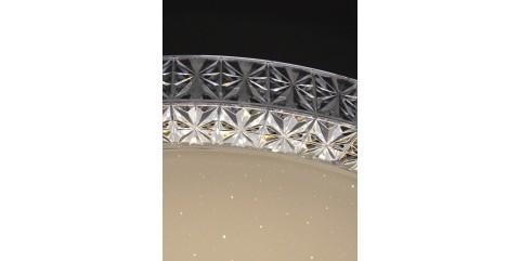 Потолочный светодиодный светильник Maysun PLUTON RGB 70W R-595-CLEAR/SHINY-220-IP40/2020