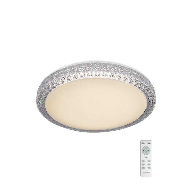 Потолочный светодиодный светильник Maysun PLUTON 40W R-400-SHINY-220-IP44 /2019