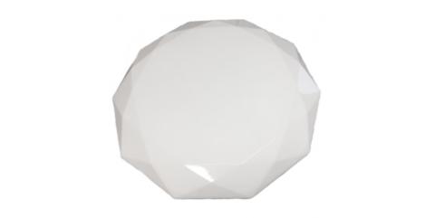 Потолочный светодиодный светильник Maysun ALMAZ 25W R-345-SHINY/WHITE-220-IP44 /2019
