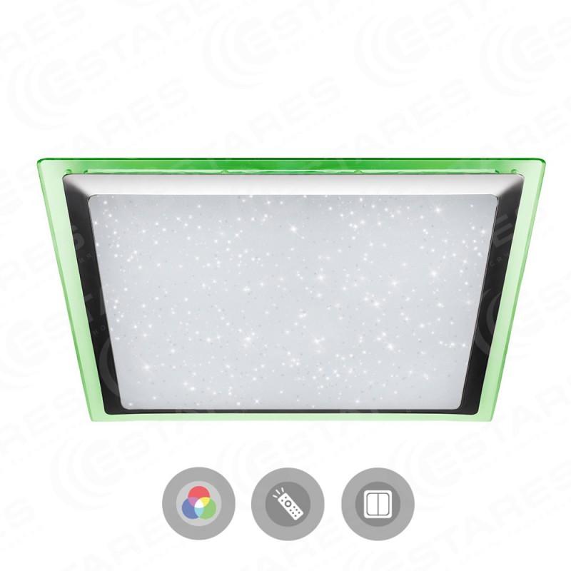 Потолочный светодиодный светильник Maysun ARION 60W RGB S-542-SHINY-220V-IP44