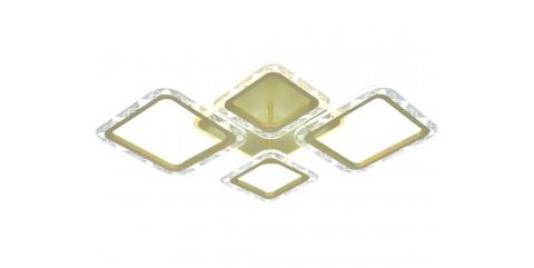 Потолочная светодиодная люстра Мелодия Света M68793-2+2+1/780-80W SGD
