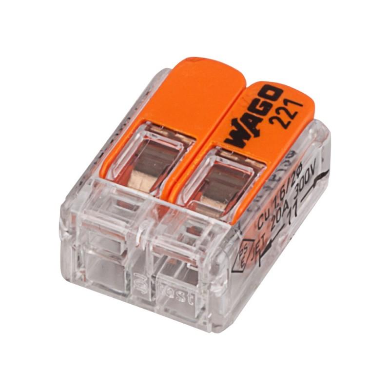 Универсальные компактные клеммы WAGO 2-проводные, 221-412