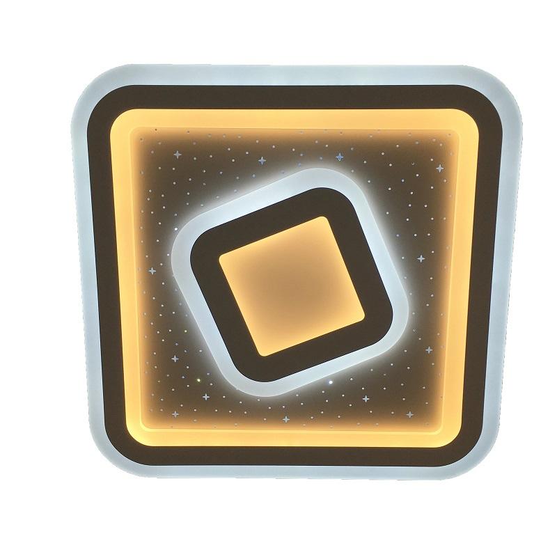 Потолочный светодиодный светильник с пультом Omnilux Saludecio OML-05607-90