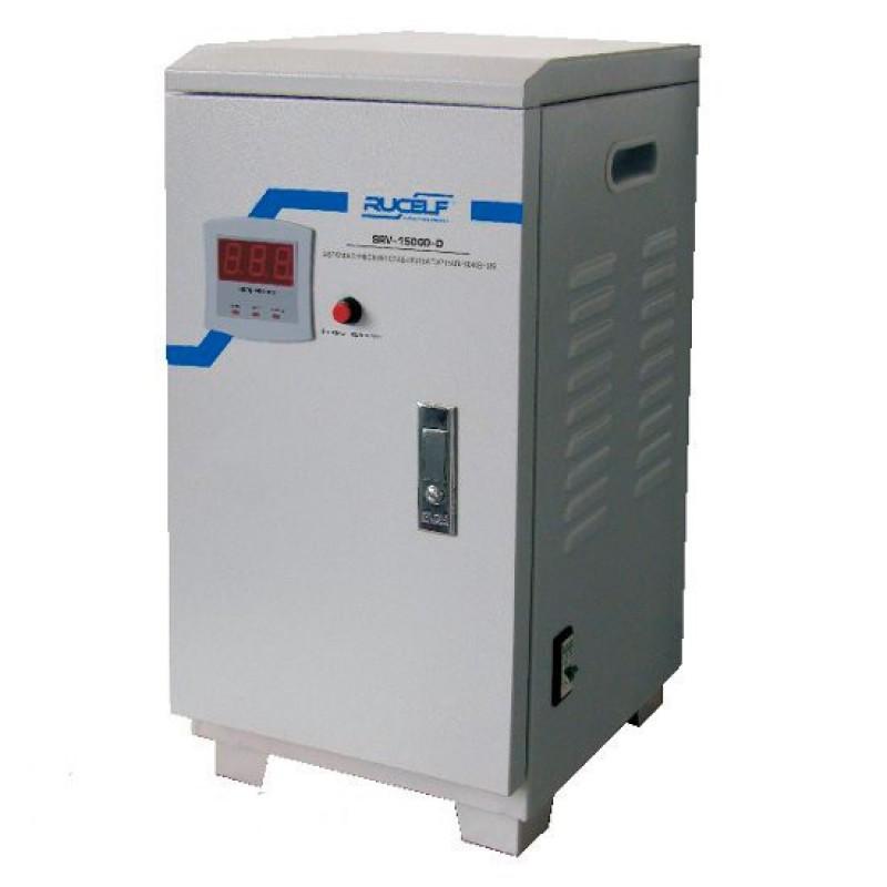 Стабилизатор напряжения Rucelf SRV- 15000-D