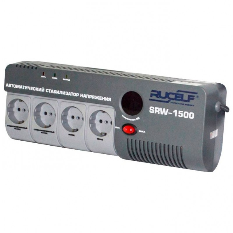 Стабилизатор напряжения Rucelf SRW-1500-D