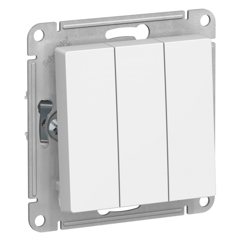 "SCHNEIDER ELECTRIC AtlasDesign Выключатель 3-кл, 10A 250V, ""белый"" ATN000131 SE"