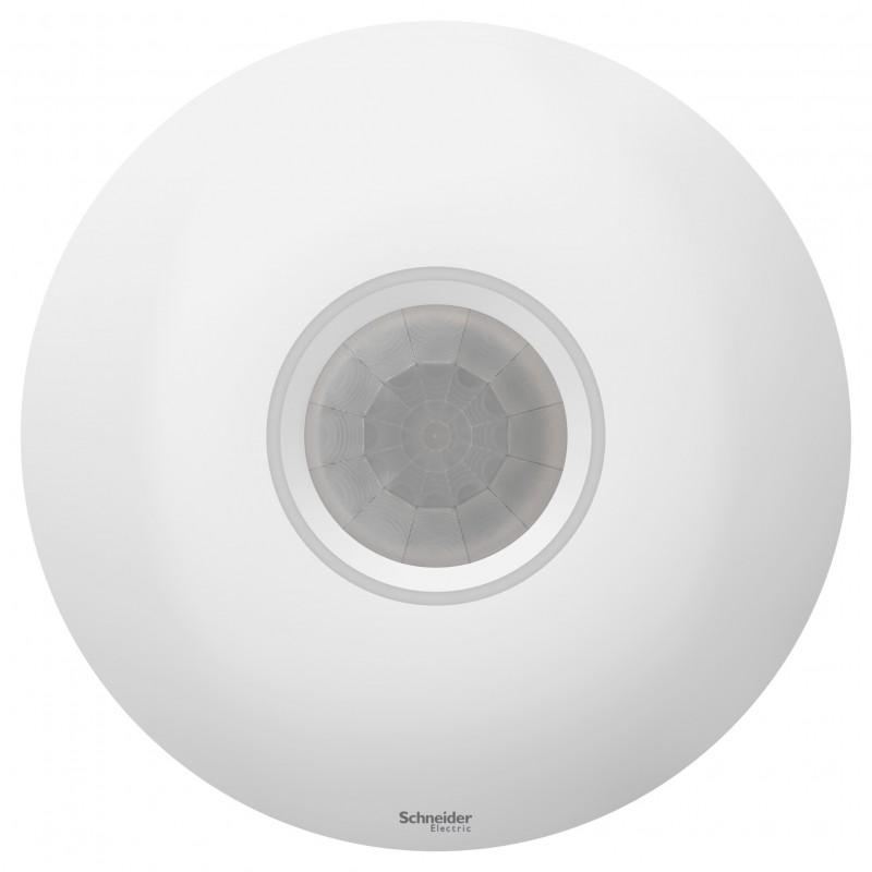 """SCHNEIDER ELECTRIC AtlasDesign Датчик движения потолочный, 2000Вт,""""белый"""" ATN000137 SE"""