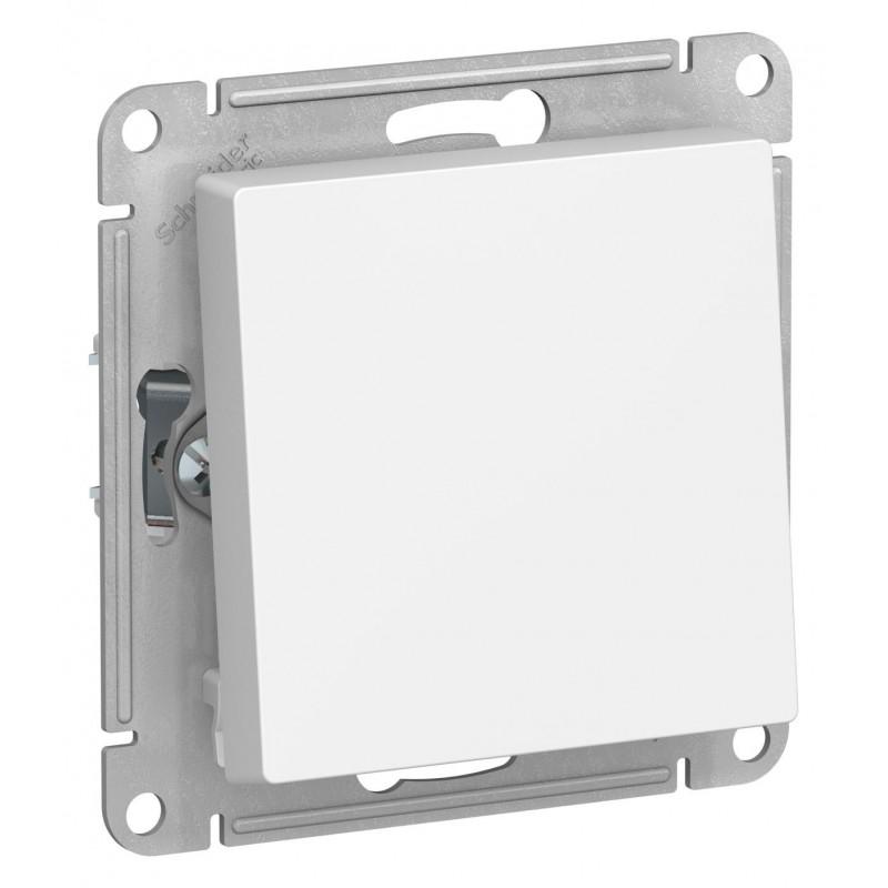 "SCHNEIDER ELECTRIC AtlasDesign Выключатель 1-кл, 10A 250V, ""белый"" ATN000111 SE"