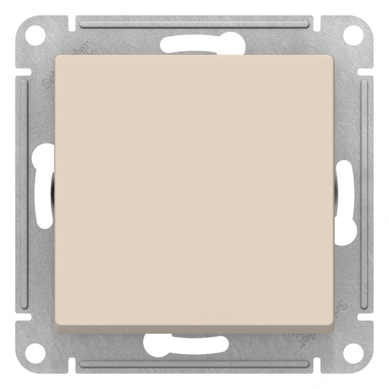 "SCHNEIDER ELECTRIC AtlasDesign Выключатель 1-кл, 10A 250V, ""бежевый"" ATN000211 SE"