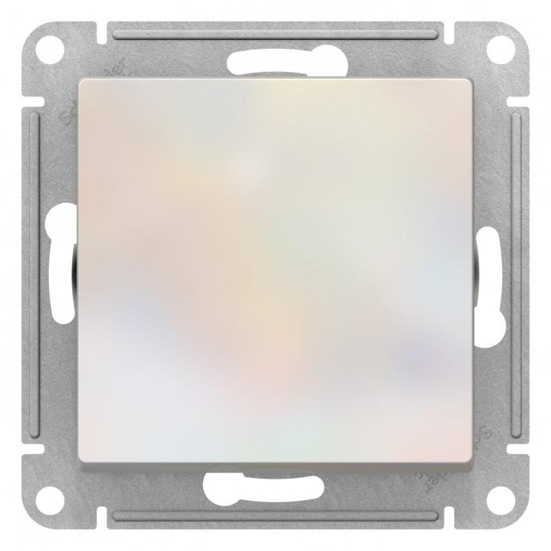 "SCHNEIDER ELECTRIC AtlasDesign Выключатель 1-кл, 10A 250V, ""жемчуг"" ATN000411 SE"