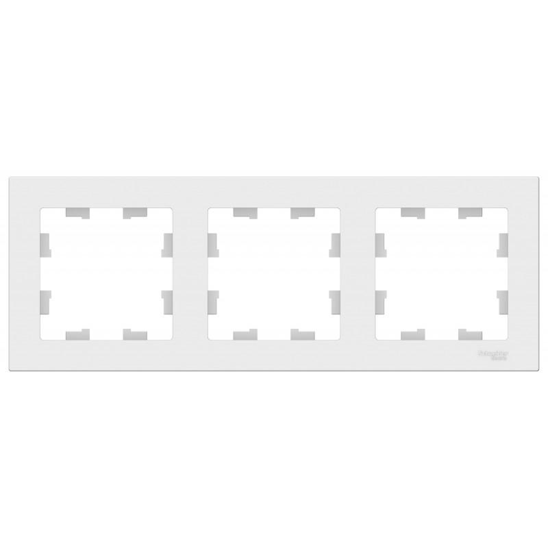 SCHNEIDER ELECTRIC AtlasDesign Рамка 3-мес...