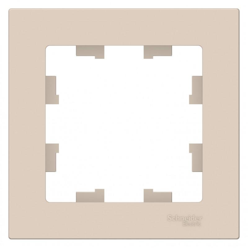"SCHNEIDER ELECTRIC AtlasDesign Рамка 1-местная, ""бежевый"" ATN000201 SE"