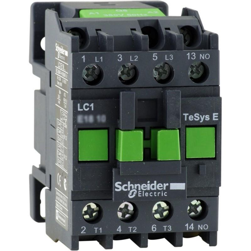 Контактор (магнитный пускатель) Schneider Electric EasyPact TVS(TeSys E) LC1E0601M5 на ток до 6 А для коммутации двигателей до 2.2 кВт(400В)