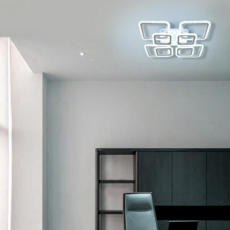 Потолочная светодиодная люстра Seven Fires CAMINO SF7037/9C-WT