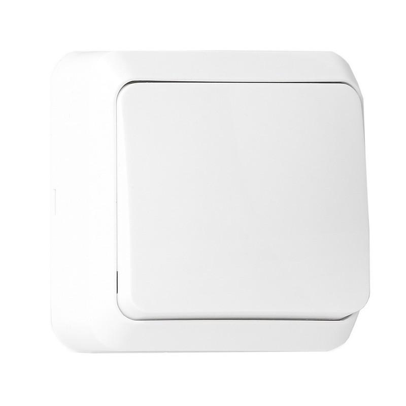 "Выключатель 1-клавишный 10А белый, Smartbuy ""Юпитер"" (SBE-03w-10-SW1-0)"