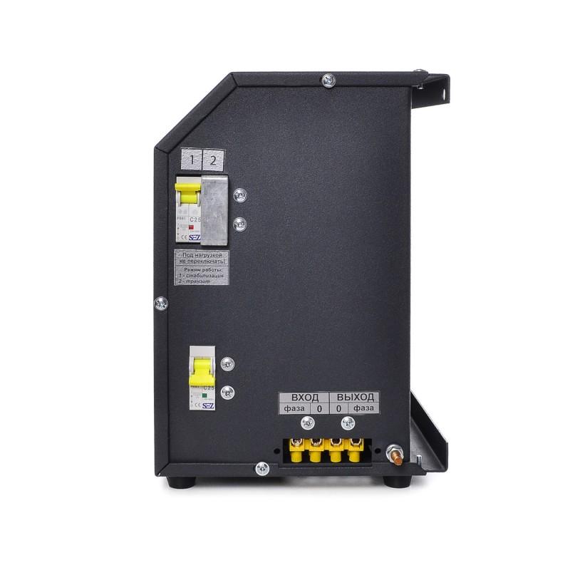 Стабилизатор напряжения симисторный 5.5кВт  РЭТА НОНС-5500 25А  BREEZE 9-и ступенчатый 15-2(123-258В)