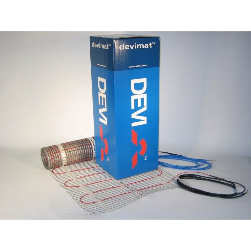 Нагревательный двухжильный мат Devi DEVImat 150T (DTIF-150) 0,5 м² (0,45 х 1,0 м), 75Вт