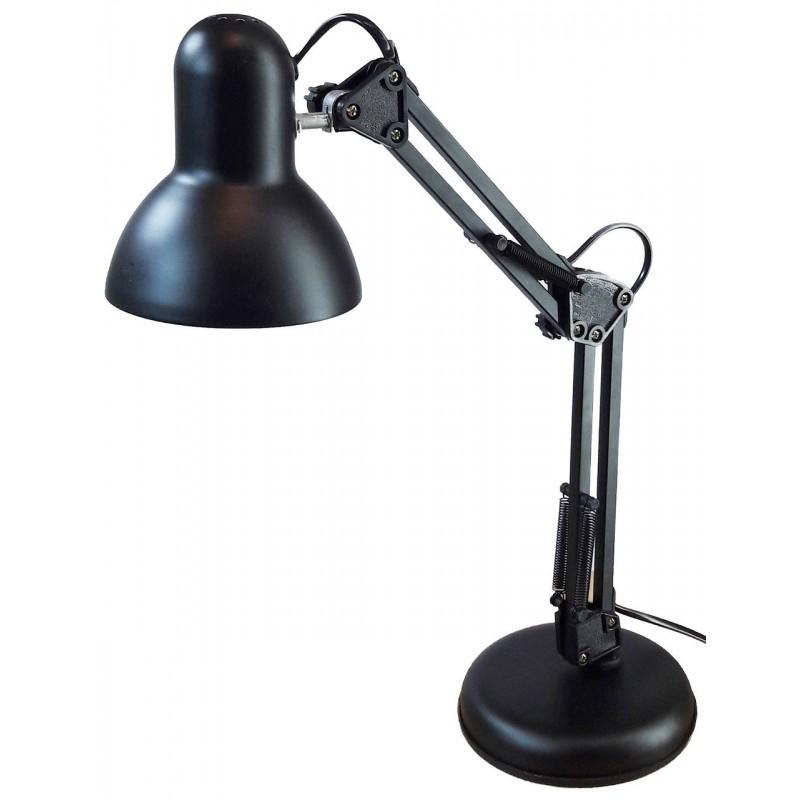 Лампа настольная UT-811 Е27 60W чёрная  на подставке шнур 1,5 м Уютель