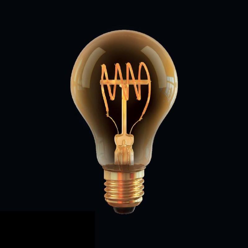 Ретро лампа светодиодная диммируемая E27 4W 2800К прозрачная VG10-A60GE27warm4W-FB 7078 Voltega (Германия)