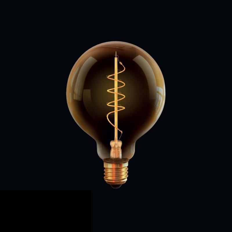 Ретро лампа светодиодная диммируемая E27 4W 2800К прозрачная VG10-G95GE27warm4W-FB 7076 Voltega (Германия)