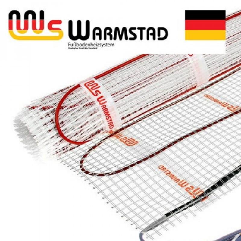 Теплый пол (нагревательный МАТ) двухжильный WARMSTAD WSM 100 Вт - 0,65 кв.м.