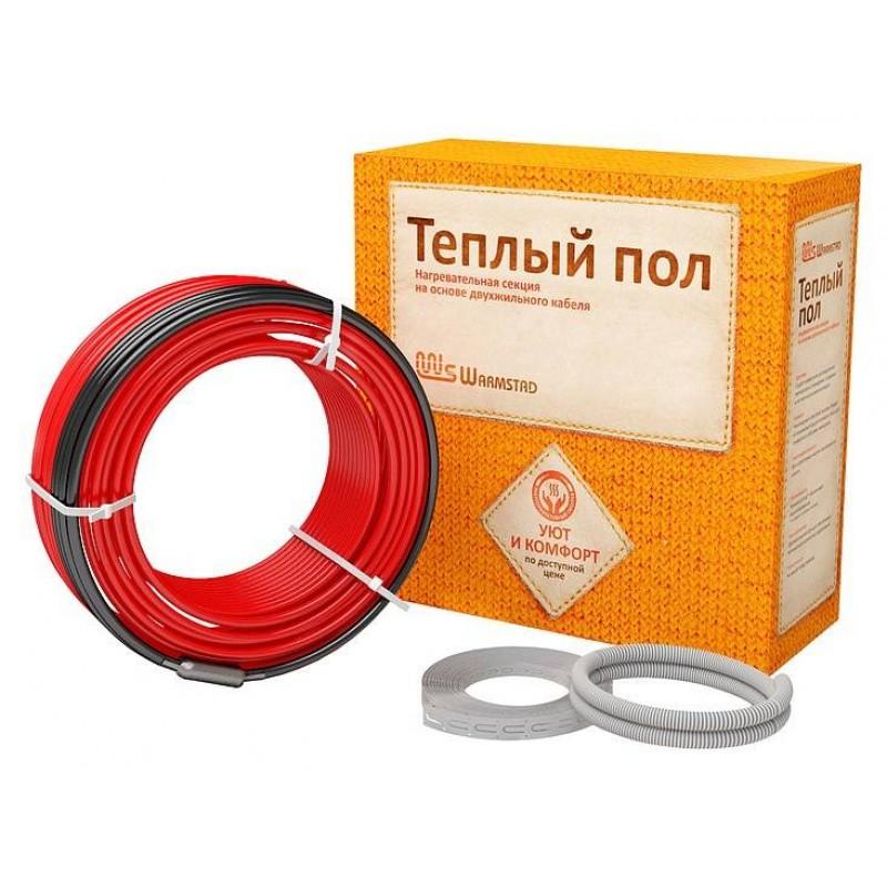 Двухжильный нагревательный кабель Warmstad WSS-680Вт 47.0м (3,8-4,5) м2