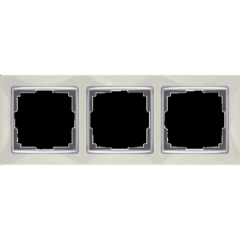.Рамка на 3 поста Werkel WL03-Frame-03 ...