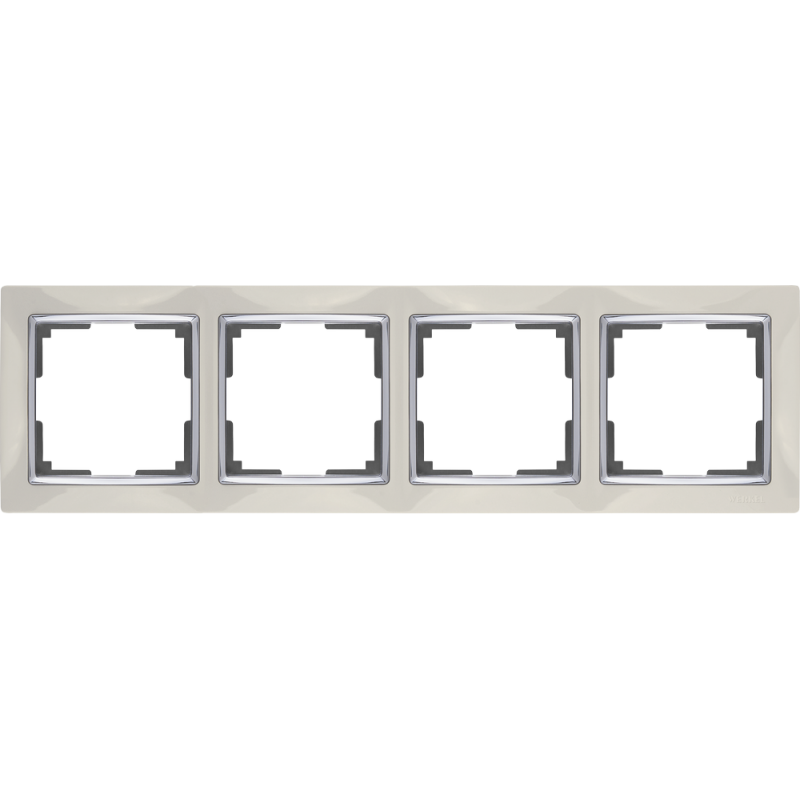 .Рамка на 4 поста Werkel WL03-Frame-04 ...