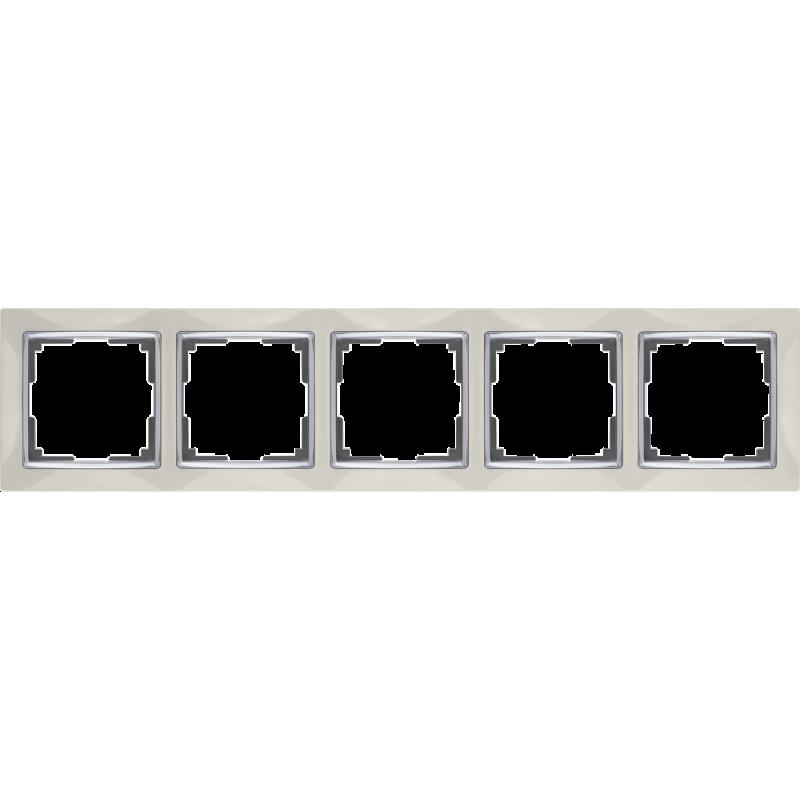 .Рамка на 5 постов Werkel WL03-Frame-0...