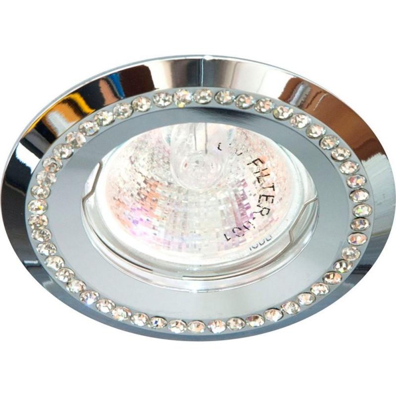 Светильник встраиваемый Feron DL103-C потолочный MR16 G5.3 хром