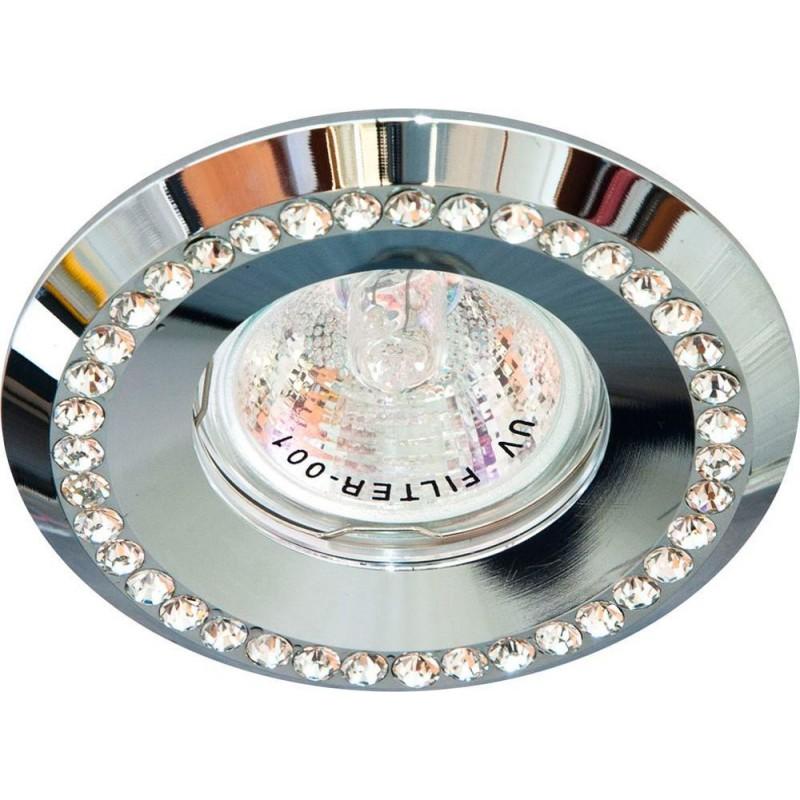 Светильник встраиваемый Feron DL104-C потолочный MR16 G5.3 хром