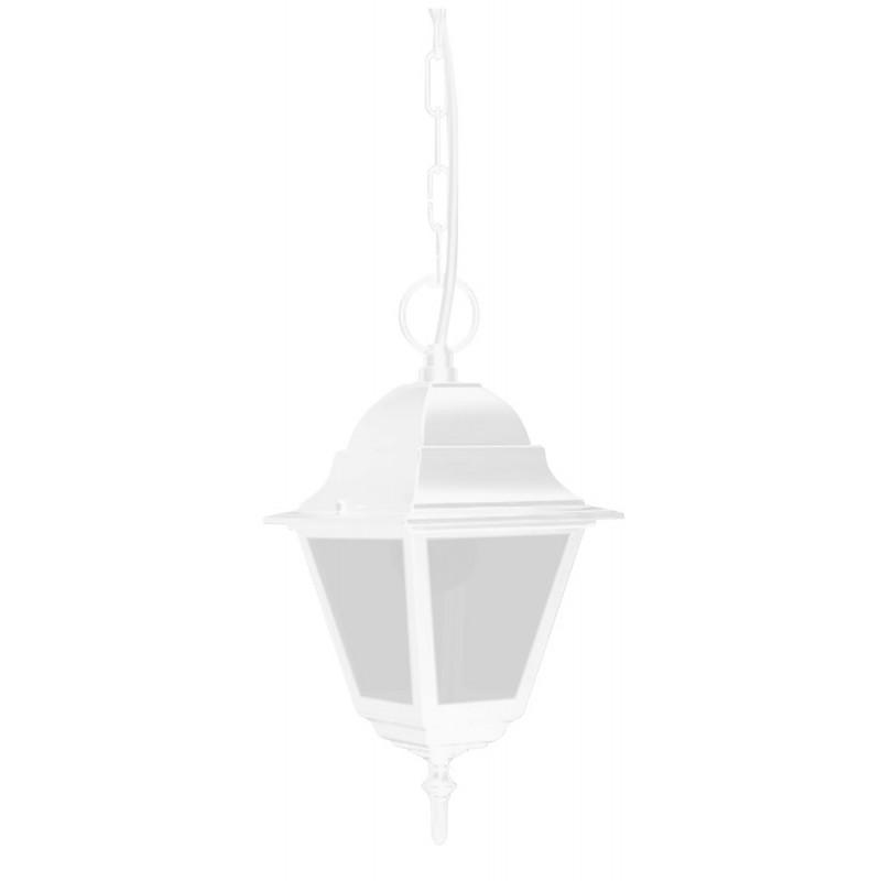 Светильник садово-парковый Feron 4105 четырехгранный  60W E27 230V, белый