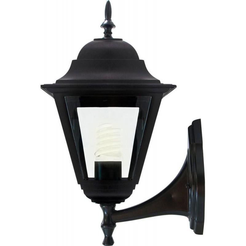 Светильник садово-парковый Feron 4201 четырехгранный  100W E27 230V, черный