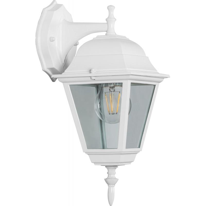 Светильник садово-парковый Feron 4202 четырехгранный  100W E27 230V, белый