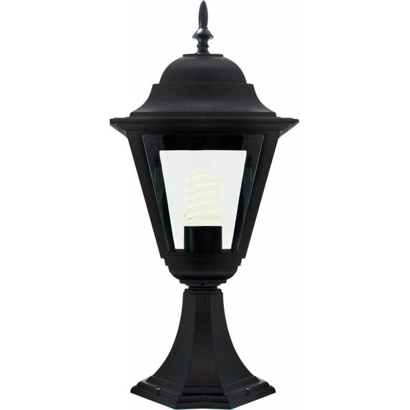 Светильник садово-парковый Feron 4204 четырехгранный  100W E27 230V, черный