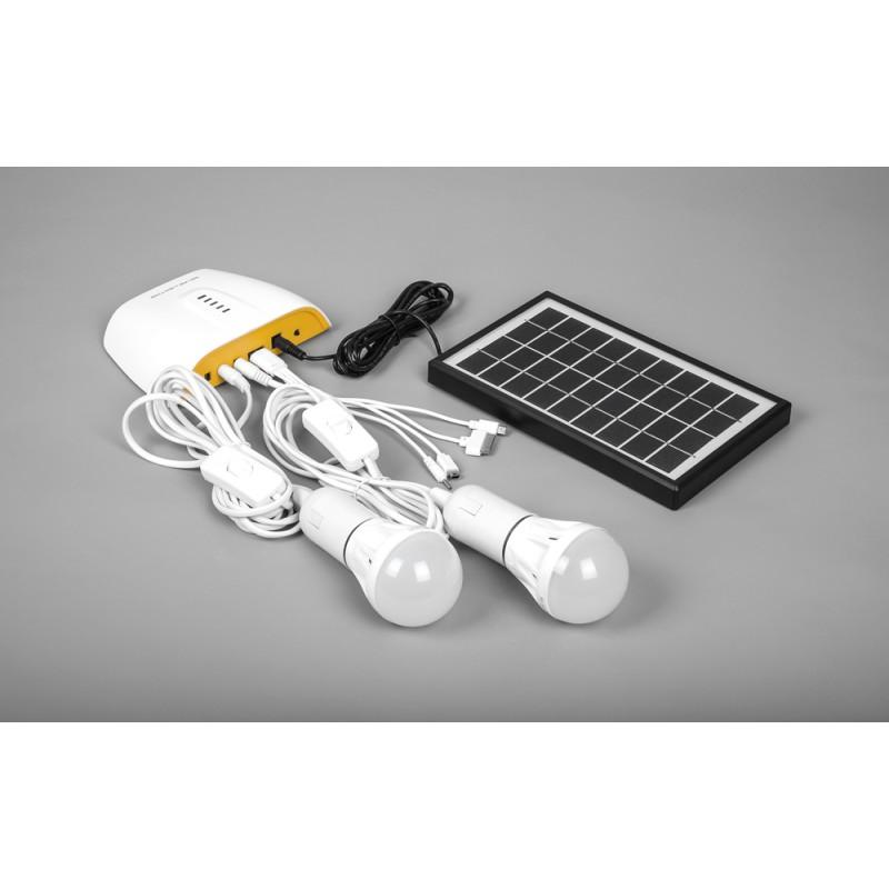 Аккумуляторная солнечная панель Feron PS0401, 3W с функцией зарядного устройства