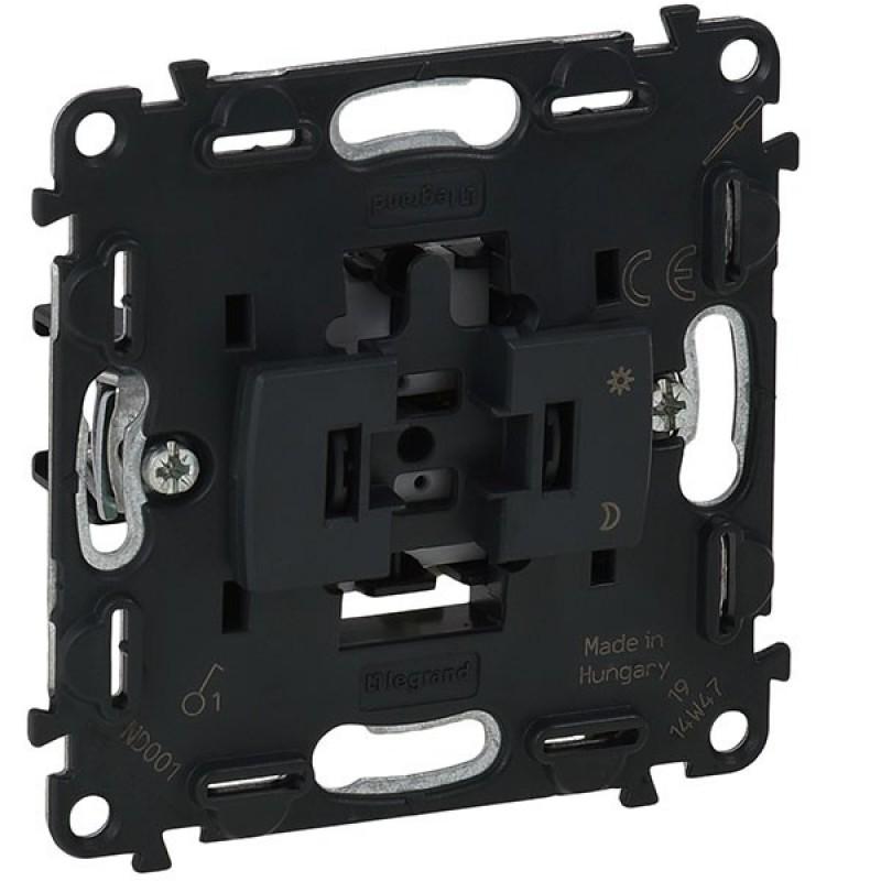 Механизм выключателя 1-клавишного 10A IN'MATIC  Legrand Valena 752001