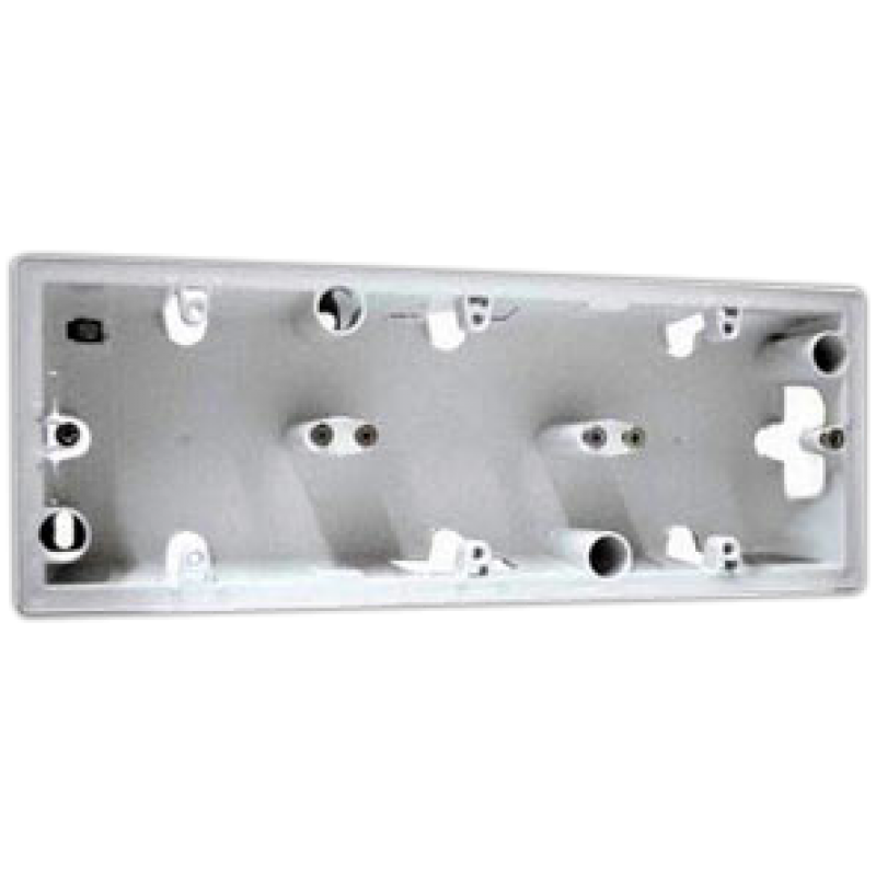 Коробка для накладного монтажа 3 поста  белый Legrand Valena 776183