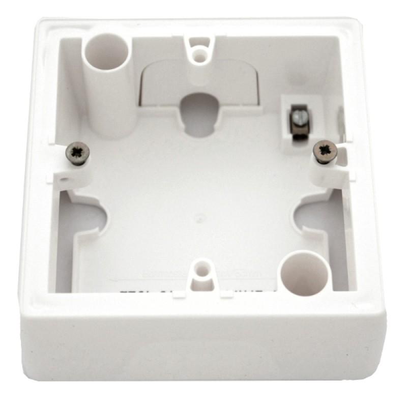 Коробка для накладного монтажа 1 пост  белый Legrand Valena 776181