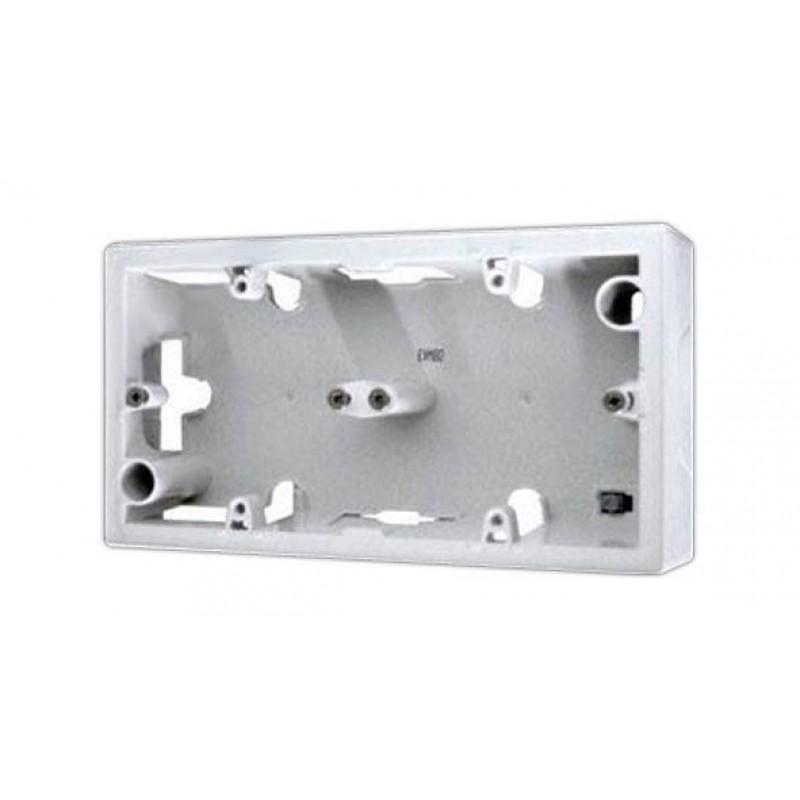 Коробка для накладного монтажа 2 поста  белый Legrand Valena 776182