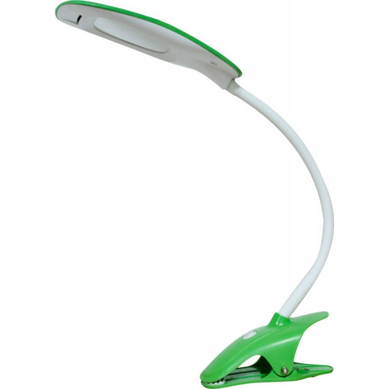 Настольный светодиодный светильник Feron DE1708 5W, зелёный